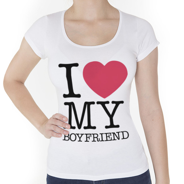 Camiseta Love my Boyfriend