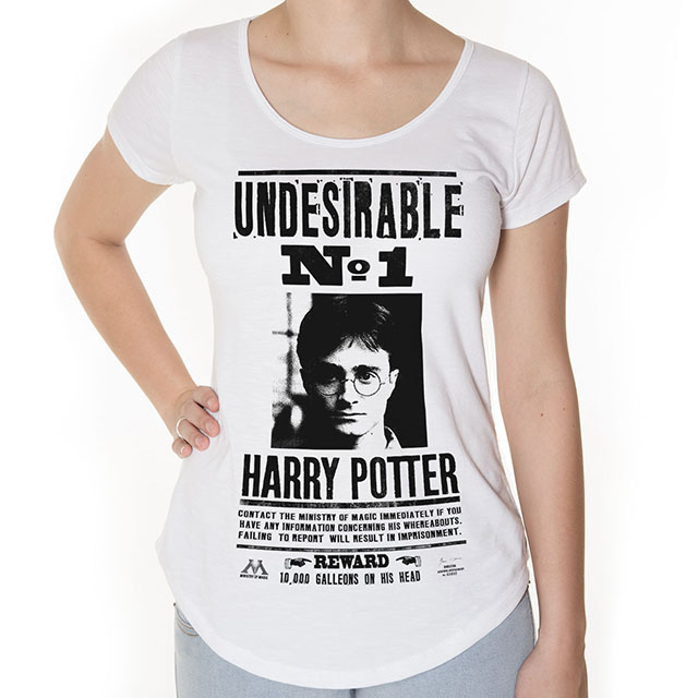 Camiseta Harry Potter Feminina