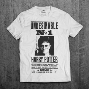 Camiseta Harry Potter Indesejável Número 1