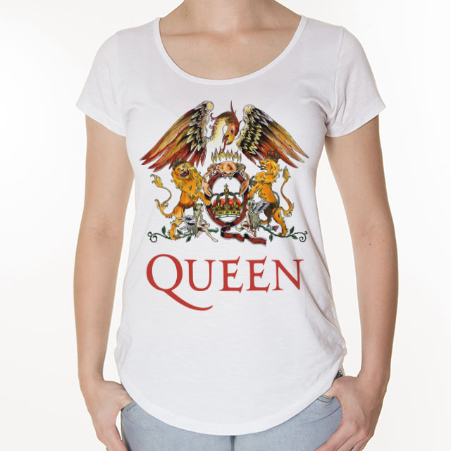Camiseta Queen Feminina