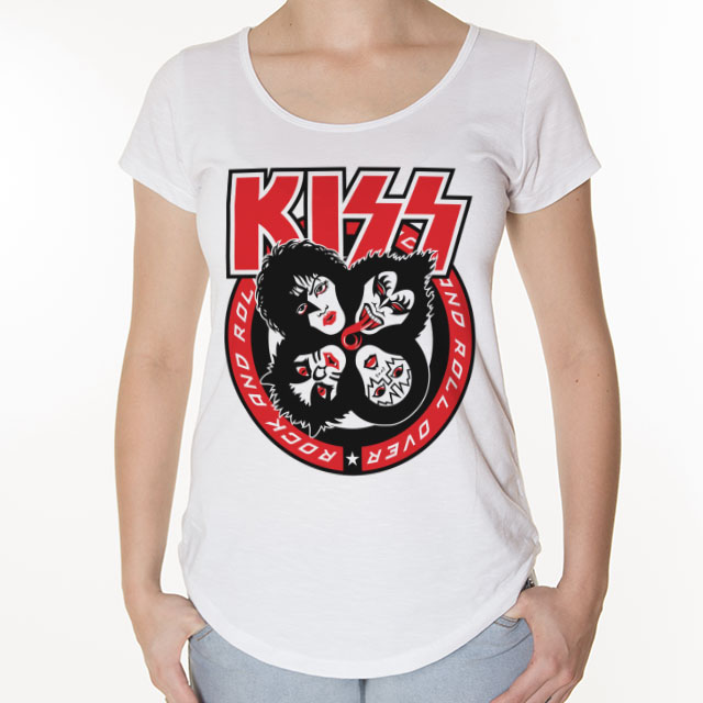 Camiseta Banda Kiss