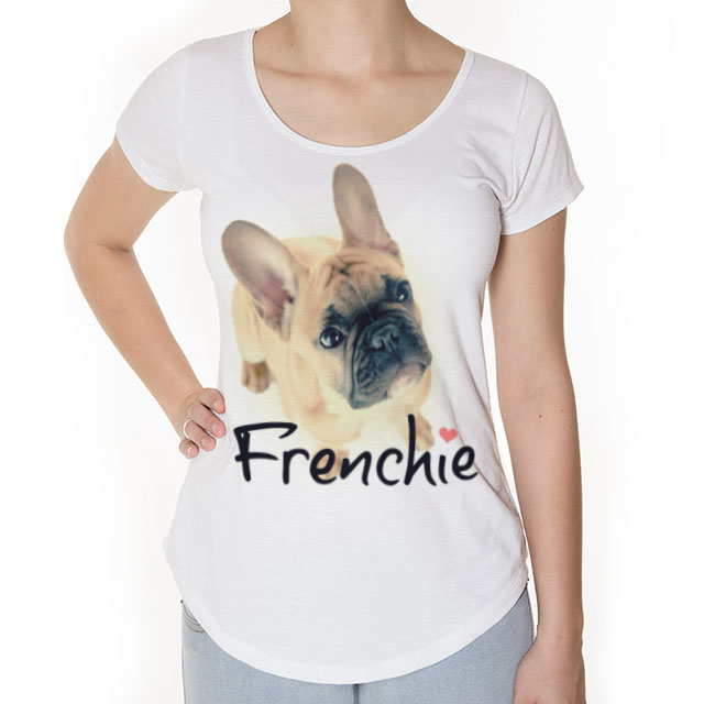 Camiseta Buldogue Frances