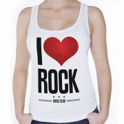 Camiseta I Love Rock