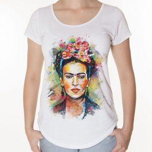 Camiseta Frida Aquarela