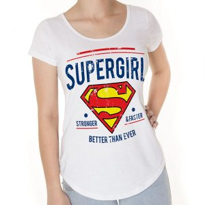 Camiseta Supergirl Comics