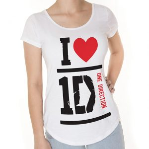 Camiseta I Love One Direction