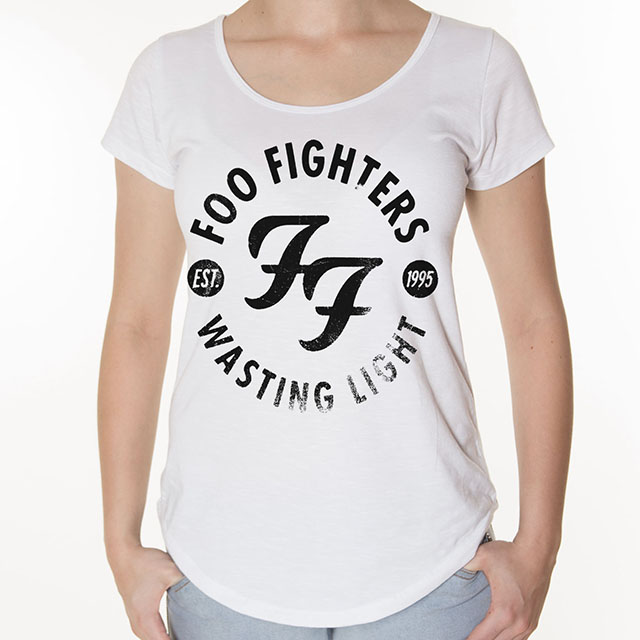 Camiseta Foo Fighters Feminina