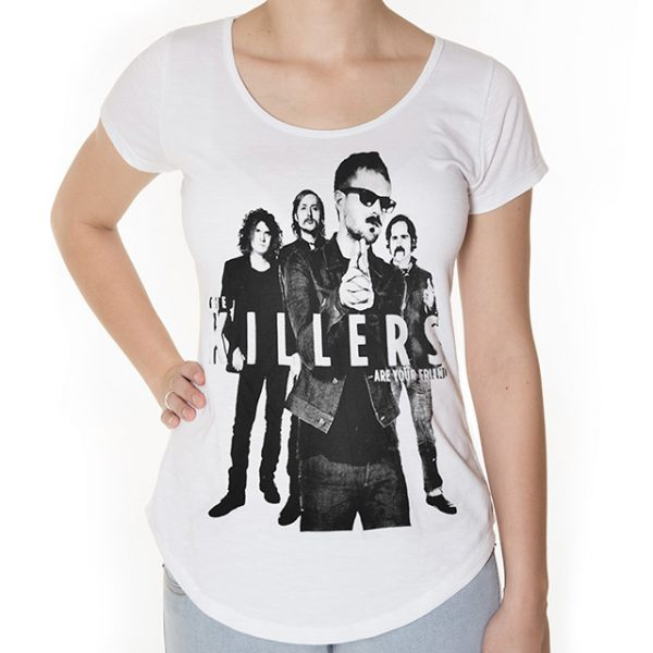 Camiseta The Killers Feminina