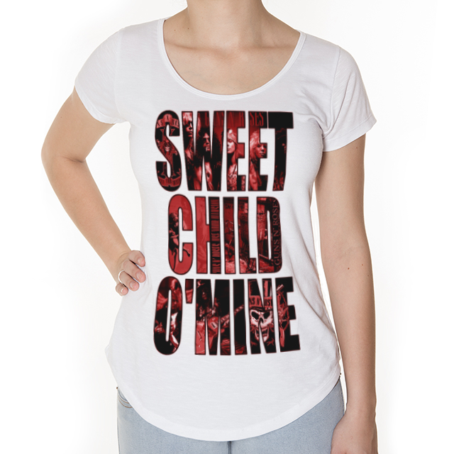 Camiseta Sweet Child Mine