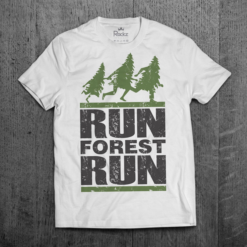 Camiseta Forrest Gump - Run Forest