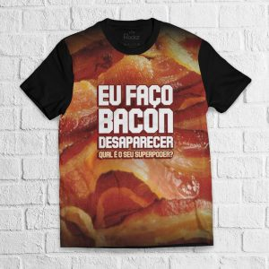 Camiseta Bacon Full Print