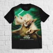 Camiseta Yoda Cat Wars