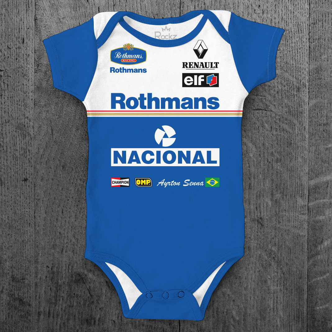 Body Williams Ayrton Senna Rothmans